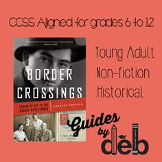 Guide Review for Border Crossings: Coming of Age in the Czech Resistance - an incredible story about a young man's struggle to survive during a horrendous time in history. It is an unforgettable heart-felt tale of love, integrity, and honor. Madeleine Albright, Coming Of Age, Felt Hearts, Integrity, Nonfiction, Middle, The Incredibles, History, Age Of Majority