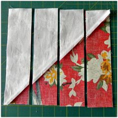 """Not modern but a versatile idea, need to add it to my """"bag of tricks."""" Delectable Mountain blocks from HSTs Janice Elaine Sews: Delectable Mountain Quilt progress Strip Quilts, Patch Quilt, Easy Quilts, Quilt Block Patterns, Pattern Blocks, Quilt Blocks, Half Square Triangle Quilts, Square Quilt, Quilting Projects"""