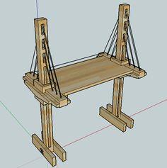DIY Adjustable Standing Desk - Imgur