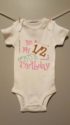 Birthday Outfits Shirts Ideas 6 Month Photos Half Amelie Baby Family Photo Months