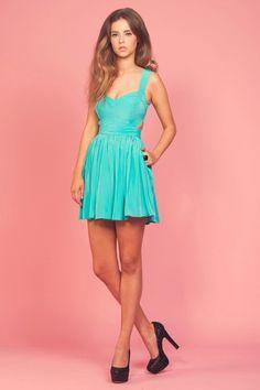 Mint dress :)