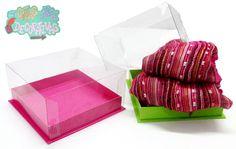 Caja de acetato ideal para guardar bufandas y detalles hermosos!