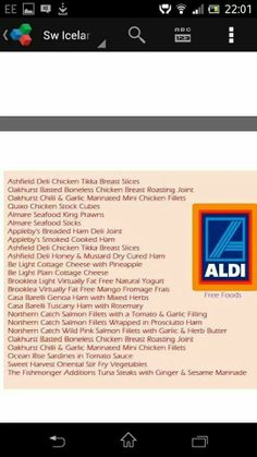 Aldi Slimming World Syn Values, Slimming World Tips, Slimming Recipes, Aldi Syns, Slimmers World Recipes, Slimming World Fakeaway, Healthy Lifestyle Motivation, Syn Free, Chicken Tikka