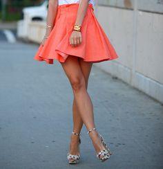5 Outfits con faldas de temporada | Moda