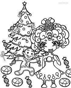 Printable Candyland Coloring Pages For Kids Cool2bKids Video