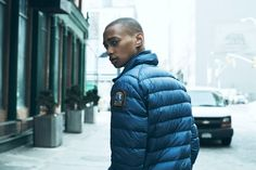 US Model Daje Barbour for the Parajumpers Fall Winter 2014-2015 Lookbook by Dario Catellani