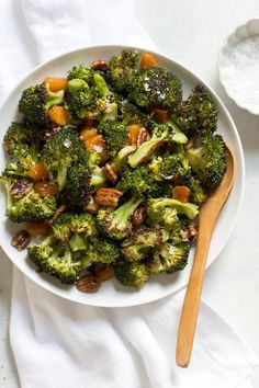 Broccoli salad with apricots and pecans is salty sweet, with roasted broccoli! This recipe is quick and easy to make, has only 5 ingredients, and is…