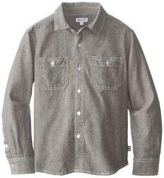 Amazon.com: Splendid Big Boys' Chambray Woven Shirt: Clothing