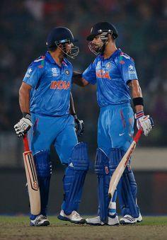 Virat Kohli and Suresh Raina