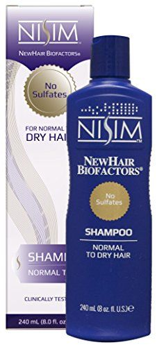 NISIM Normal to Dry shampoo 811 Fluid Ounce * Click image for more details. (This is an affiliate link) Good Dry Shampoo, Hair Loss Shampoo, Back Hair Shaver, Oily Scalp, Itchy Scalp, Deep Cleansing Shampoo, Excessive Hair Loss
