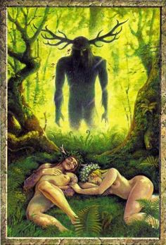 Cernunous, Lord of the Forest.