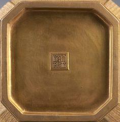 089、Qing Emperor Qianlong Yang Cai flower pattern cans (with cover) - 清乾隆洋彩金地开光浮雕花鸟纹罐(带盖).jpg (1000×1021)