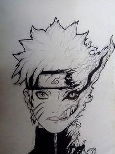 Naruto shippuden art inspired by adriándadich kakashi, naruto uzumaki, naruto anime, naruto art Naruto Sketch, Naruto Drawings, Anime Drawings Sketches, Naruto Art, Anime Sketch, Manga Drawing, Anime Naruto, Cool Drawings, Naruto Tattoo