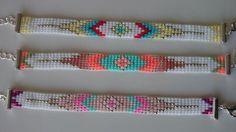 Handgewebte Perlen Armband mit Verlängerung/Loom von Suusjabeads