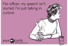 Cursive Speech