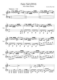 Sheet music made by Nba_Yoh for Piano