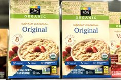 This winning organic instant oatmeal only contains one ingredient: organic rolled oats. I Love Food, Good Food, Isagenix Shakes, Meal Replacement Shakes, Best Oatmeal, Protein Shakes, Food Allergies, Healthy Choices, Healthy Recipes