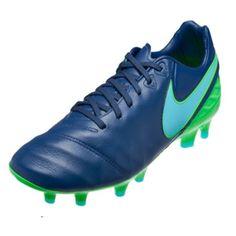 Nike Tiempo Legacy II FG (Coastal Blue)