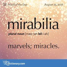 . #mirabilia #marvel #miracle