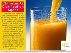 Chitosan As Clarification Agent #ClarificationAgent #ApplicationOfChitosan http://marshallmarine.in/chitosan.html