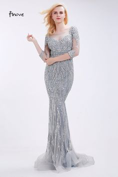 de50a8eb8 Amazing beading never be stopped Mermaid Evening Dresses, Prom Dresses,  Formal Dresses, Wedding