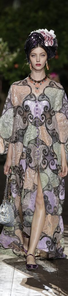 ᎠᎧɭƈҽ & Ɠaɓɓaɲa ♔ Alta Moda Fall 2015 Couture