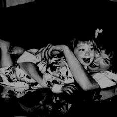 Shirley and Saschi, circa 1958