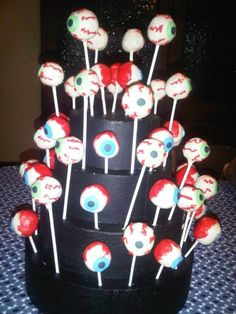 Eyeball cakepops