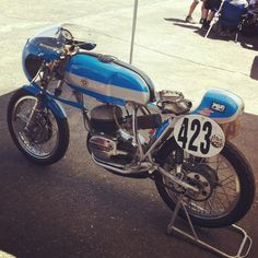 Bultaco Vintage Moto at Willowsprings