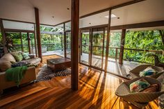 The GlassHouse Rainforest Retreat. | Woolgoolga, NSW | Accommodation. From $200 per night. Sleeps 2. #rainforest