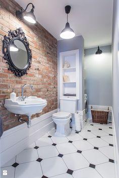 Dom nad Wisłą - Średnia łazienka bez okna, styl skandynawski - zdjęcie od emDesign home & decoration small bathroom ideas | decoration | inspiration