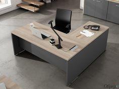 46 mejores imágenes de Mesas de oficina | Office Furniture, Office ...