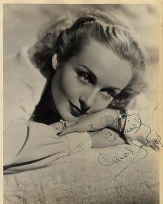 "Carole Lombard 1939 Doubleweight Matte Finish 11 x 14"" Autographed Portrait | eBay"
