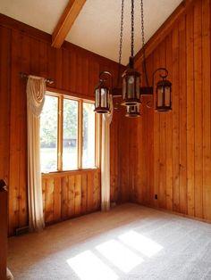 Rustic Wood Paneling