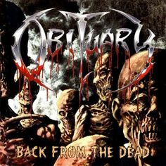"""Death Metal legends OBITUARY released their fifth studio album """"Back from the Dead"""" 22 years ago today. This was the last album before the band regrouped 8 years later. Which is your favorite track on the album? Music Pics, Music Albums, Death Metal, Obituary Band, Hard Rock, Musica Metal, Tenacious D, Extreme Metal, Metal Albums"""