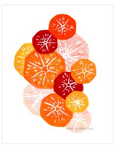 Illustration and graphic design portfolio for Los Angeles-based illustrator Ann Shen Art And Illustration, Illustration Dessert, Food Illustrations, Buch Design, Art Design, Textures Patterns, Print Patterns, New Print, Art Plastique