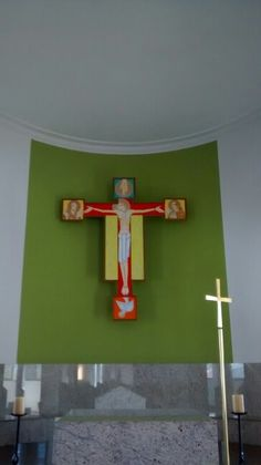 Cristo Crucificado/ Paróquia S.  Antônio do Caxingui/ BR 06/2016