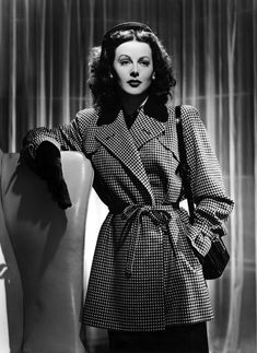 """""""I am a sworn enemy of convention. I despise the conventional in anything, even the arts"""" Oozing """"old hollywood glamour"""", Hedy Lamarr was THE siren of film during the pinnacle decades of MGM's his..."""