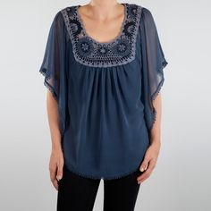 Crochet Blouse Ocean now featured on Fab.