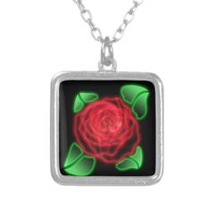 Red Rose Necklaces Selection