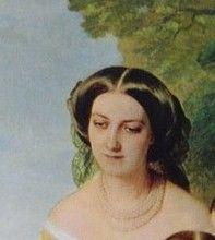 L'Impératrice Eugénie entourée de ses dames d'honneur — Wikipédia