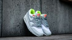 7f3b4d206d Nike Air Max 1 | White/Barely Grey/Pumice | Womens Trainers [319986-107] # Nike