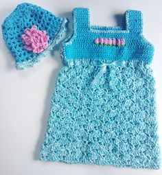 I'm selling Baby's Row o' Roses Turquoise Sundress and Hat - $35.00 #onselz