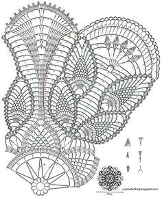 Fabulous Table-Centerpiece                  Source: A Vintage Japanese Crochet Book
