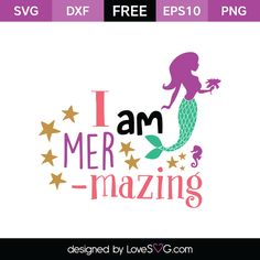 Free SVG cut file I am Mer Mazing Baby SVG free File svg svg files for cricut Cricut Vinyl, Cricut Air, Svg Files For Cricut, Free Svg Cut Files, Cricut Craft, Silhouette Cameo Projects, Silhouette Design, Vinyl Crafts, Vinyl Projects
