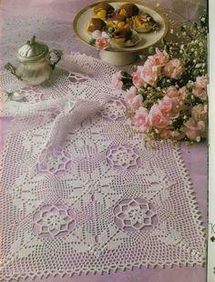 Kira scheme crochet: Scheme crochet no. 1052