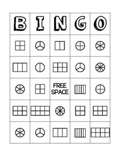 Students use the bingo card provided to color in their own fractions. The calling cards are provided. This activity can be teacher or student led. It could be used whole class or during Math Workshop. Fraction Bingo, 3rd Grade Fractions, Math Workshop, Bingo Cards, Calling Cards, Teacher Pay Teachers, Teacher Newsletter