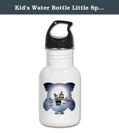 Kid's Water Bottle Little Spooky Vampire Owl with Friends. Product Number: 0001-1619801718 Perfect for school lunches or soccer games, our kid's stainless steel water bottle quenches children's thirst for individuality. Personalized for what kids love, it's both eco-friendly and compact. Made of 18/8, food-grade stainless steel. * No lining & no BPA or other toxins * Wide mouth for easy drinking * Durable, BPA-free & phalate-free screw-on top * Holds 0.35L (nearly 12 ounces) * Thin…