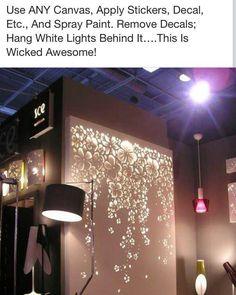 Easy lit canvas
