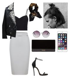 """""""Untitled #143"""" by cassandra8204 ❤ liked on Polyvore featuring WtR London, Dsquared2, Alexander Wang, Balmain, Monki and Hermès"""